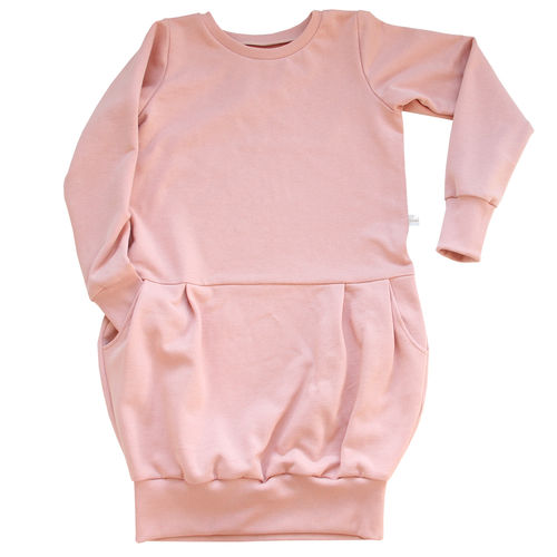 Mamas Sweatkleid rosa